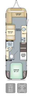 100 Flying Cloud Camp Floorplans Remodeled Campers Airstream Campers Airstream