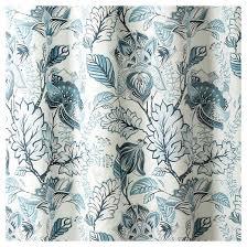 Cynthia Rowley Jacobean Floral Curtains by Cynthia Jacobean Shower Curtain Lush Decor Target