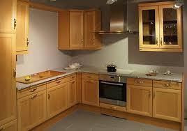 erndl küchen musterküche erle massiv holz front