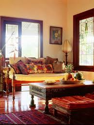 Global Style Works Really Well In This Craftsmen Bungalow The Furniture And Window Details
