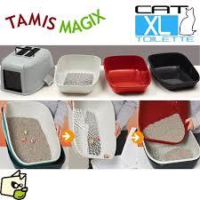 maison de toilette pour litière de chat tamis magix