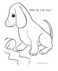 Free Printable Animal Page