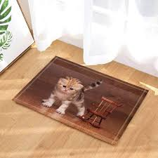 Amazon.com: RFJAUT Animal Decoration, A Cute Cat And A ...