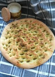 the recette de focaccia au zaatar par annaelle pâtisseries et
