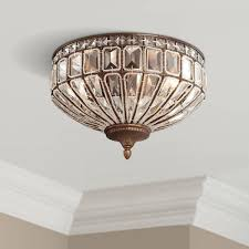 Flush Mount 19 24 In Wide Close To Ceiling Lights