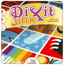Dixit Jinx Board Game Front Of Box