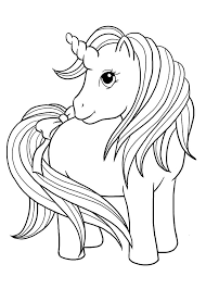 736x1030 Coloring Pages Unicorn