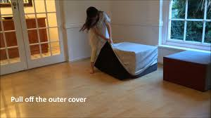 Handy Living Convert A Couch Sleeper Sofa by Snooza The Sleeper Couch Alternative Youtube