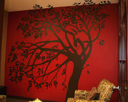 wall mural decals tree home design blog amazing girls wall