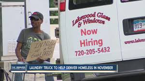 Laundry Truck To Help Denver Homeless In November - YouTube Wash Laundry Truck 1 Royal Basket Trucks 16 Bushel Blue Plastic Series Kd Cart Vinyl Basket Laundry Truck Crown Uniform Linen Service Uniforms Linens A Big Welcome To Orange Sky Bc Textile Innovations Commercial Tide Rolls Out For Harvey Steemit Mobile Laundry Truck Cleans Clothes Homeless Free Of Charge Laundromat Helps Homeless People Wash Their Clothes Thedelite Steele Canvas 152 Elevated Utility Anchortex