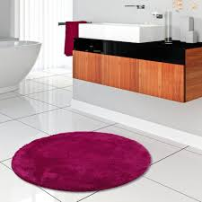pacific badteppich chillout pink mix rund