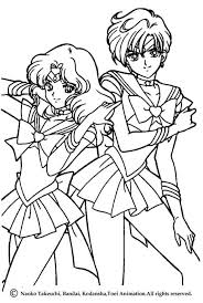 Beautiful Sailor Moon Warriors Coloring Page For Kids Of All Ages More Sheets