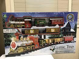 Photo The Classic Train Electric Christmas Tree Set