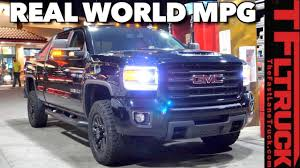 100 Highest Mpg Truck How Far Can You Go On A Tank Of Diesel GMC Sierra HD Real World