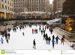 Rockefeller Plaza Christmas Tree Live Cam by Lower Plaza Of Rockefeller Center With Ice Skating Rink And