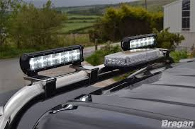 To Fit 05 - 15 Mitsubishi L200 Roll Bar + LEDs + Beacon + 12