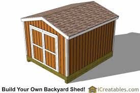 10x12 shed plans gable shed storage shed plans icreatables