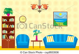 living room vector clipart panda free clipart images