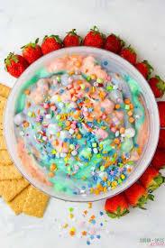 Pumpkin Fluff Dip Without Pudding by Kids Kitchen Unicorn Fluff Dip