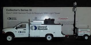100 United Truck Rental First Gear S Dodge Ram 5500 Service W Magnum