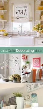 Zero Dollar Decorating Budget DecoratingCheap IdeasDecorating KitchenKitchen