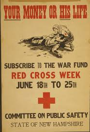 This WWI Poster Plays On Emotions Again A Common Occurrence In War Propaganda The Intention Is Clear That Failure To Donate Funds Would Likely Result