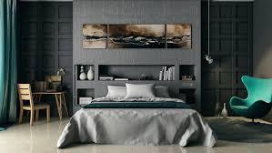 graue schlafzimmer design ideen außergewöhnliches