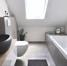 einrichtungsideen top große badezimmer betonoptik