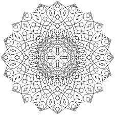 Relaxing Mandala Zen Antistress Mandalas 100