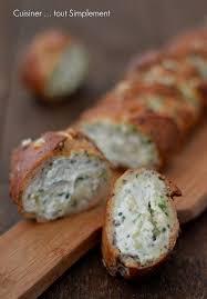 cuisiner simplement baguette farcie mozzarella epinards cuisiner tout