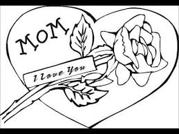 Mothers Day Free Coloring Pages Sheets Printables Pictures