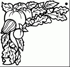 Download Coloring Pages Harvest Festival Awesome Fall Landscape Page With