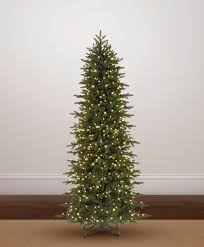 9 Ft White Pencil Christmas Tree by Oregonian Slim Christmas Tree Tree Classics