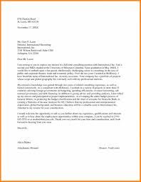 Mckinsey Cover Letter Sample Resume Consulting Example Intended For
