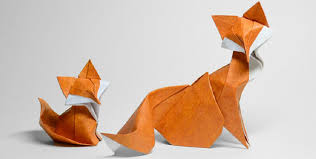 Artist Uses A Special Folding Technique To Give These Animal Origami