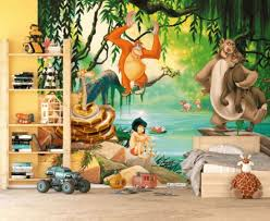 Wall Mural Decals Uk by Wall Ideas Jungle Wall Mural Pictures Jungle Wall Stencils Uk