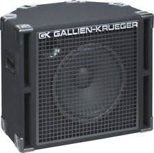 2x10 Bass Cabinet 8 Ohm by Gallien Krueger Bass Cabinet Ebay
