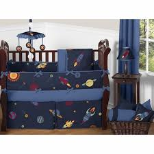 galaxy crib bedding collection