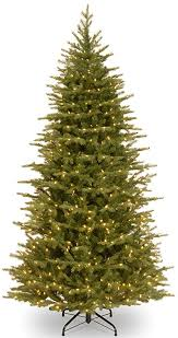 National Tree 75 Foot Feel Real Nordic Spruce Slim With 600 Dual LED Lights