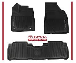 Scion Tc Floor Mats by Awesome Awesome 2017 2016 Highlander Toyota All Weather Floor
