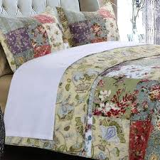 Greenland Home Bedding by Greenland Home Fashions Blooming Prairie Quilt Set Master Bedroom