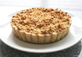 Apple Tart With Crumb Topping We