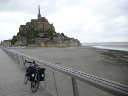 mont michel parking cycling stage 1 of the 2016 tour de freewheeling