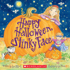 Halloween Picture Books For Kindergarten by Happy Halloween Stinky Face Lisa Mccourt Cyd Moore