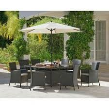buy heart of house rio rattan effect 6 seater dining set at argos