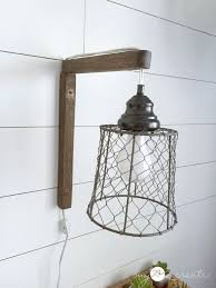 wall sconces modern vintage lighting fixtures rustic corded sconce