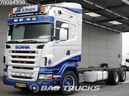 SCANIA R420 6X2 Retarder Lift+Lenkachse Euro 3 Chassis Trucks For ...