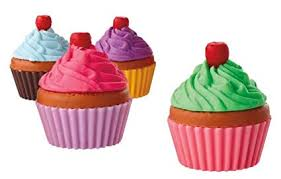 Amazon Cupcake Eraser Package Of 36 Pencil Erasers Office