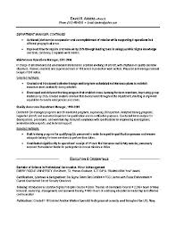 Us Army Resume Example Address For Sample