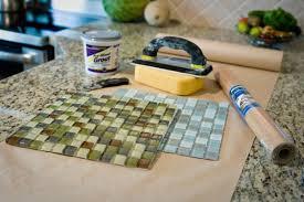 diy glass tile coaster kirksle